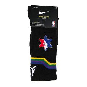 Jordan Nike Elite Crew All-Star Socks Black ASG